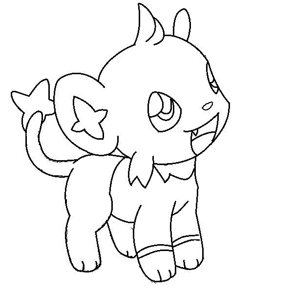 shinx coloring pages pin by spetri4kids on coloring 4 kids pokemon coloring shinx coloring pages