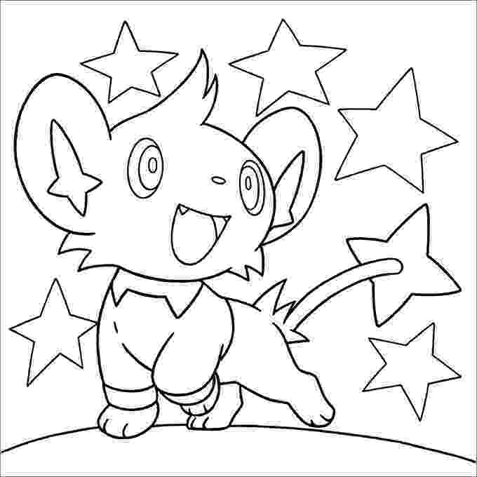 shinx coloring pages pokemon coloring pages 30 free printable jpg pdf pages shinx coloring