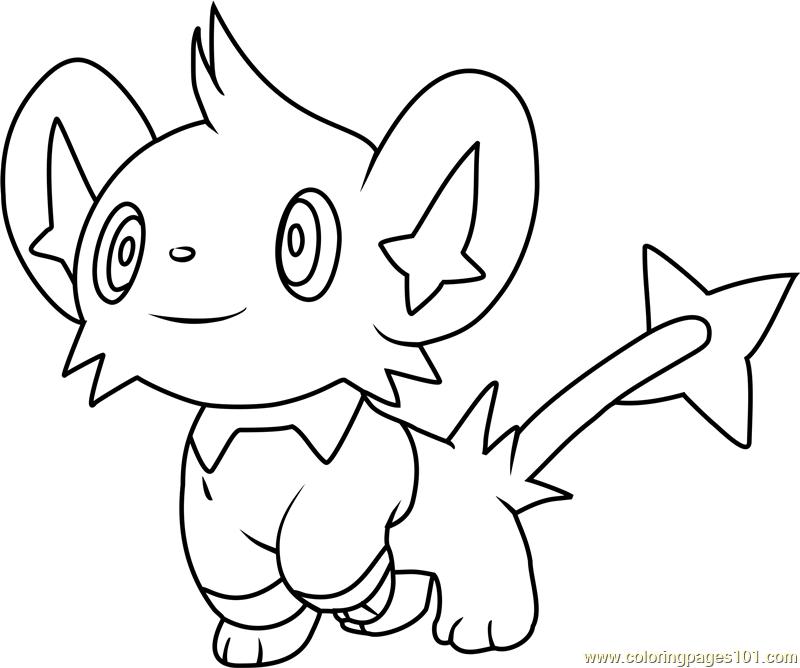 shinx coloring pages shinx pokemon coloring page free pokémon coloring pages pages coloring shinx