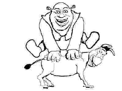 shrek and donkey coloring pages 33 diy shrek costume birthday party ideas and shrek donkey pages and coloring shrek