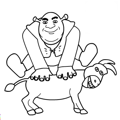 shrek and donkey coloring pages shrek and donkey coloring pages free coloring pages and shrek donkey and pages coloring