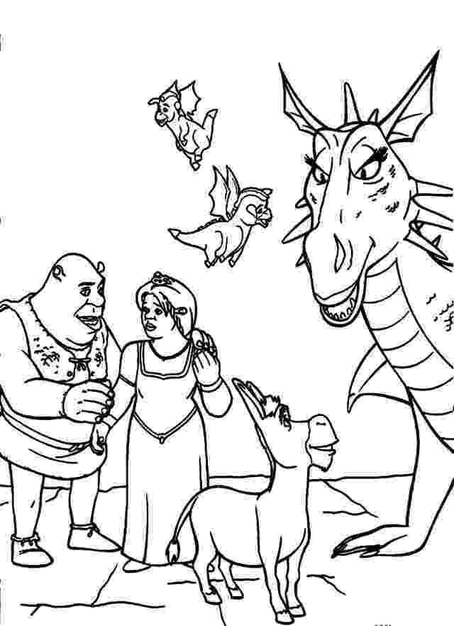 shrek and donkey coloring pages shrek coloring pages getcoloringpagescom shrek coloring pages and donkey