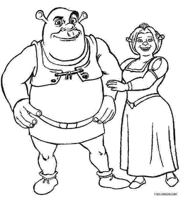 shrek and donkey coloring pages shrek coloring pages smiling donkey funny shrek donkey pages and coloring