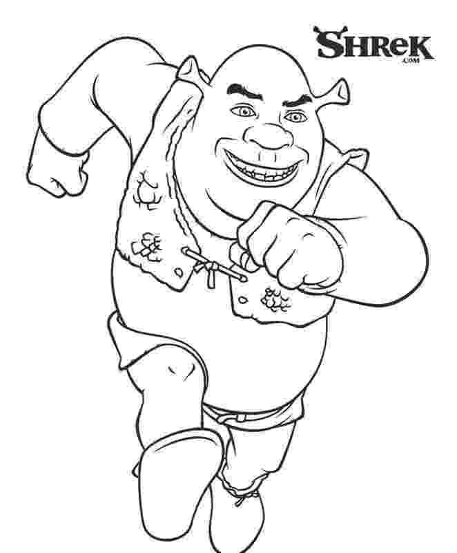 shrek pictures to colour free printable shrek coloring pages for kids colour shrek pictures to
