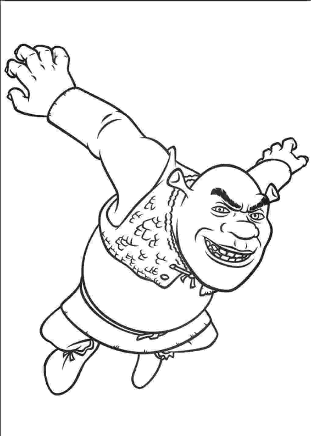 shrek pictures to colour shrek coloring pages 360coloringpages colour shrek to pictures
