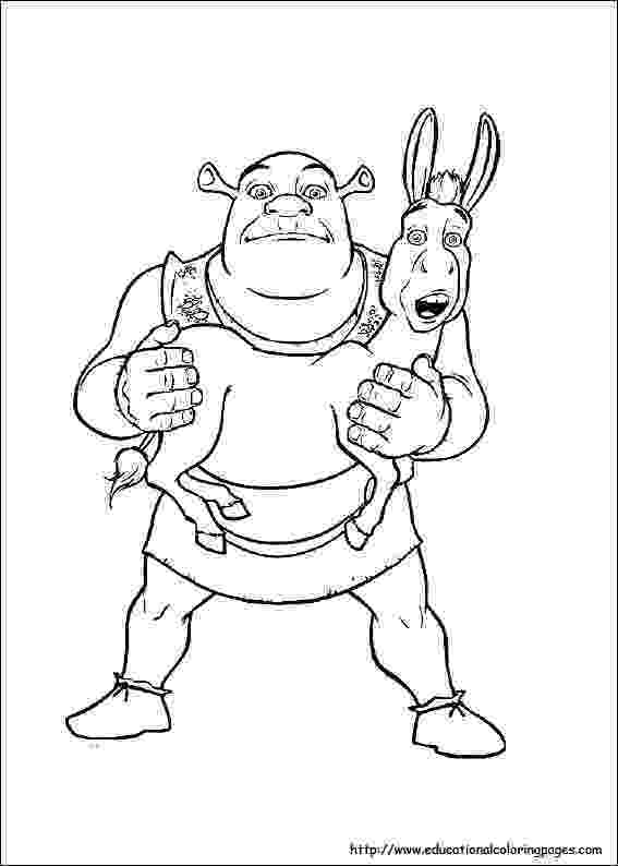 shrek pictures to colour shrek free to color for children shrek kids coloring pages colour shrek to pictures