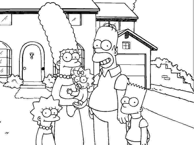 simpson coloring pages free printable simpsons coloring pages for kids coloring pages simpson