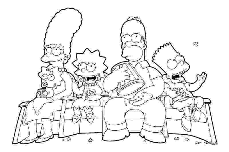 simpson coloring pages simpsons coloring pages coloring pages to print pages coloring simpson
