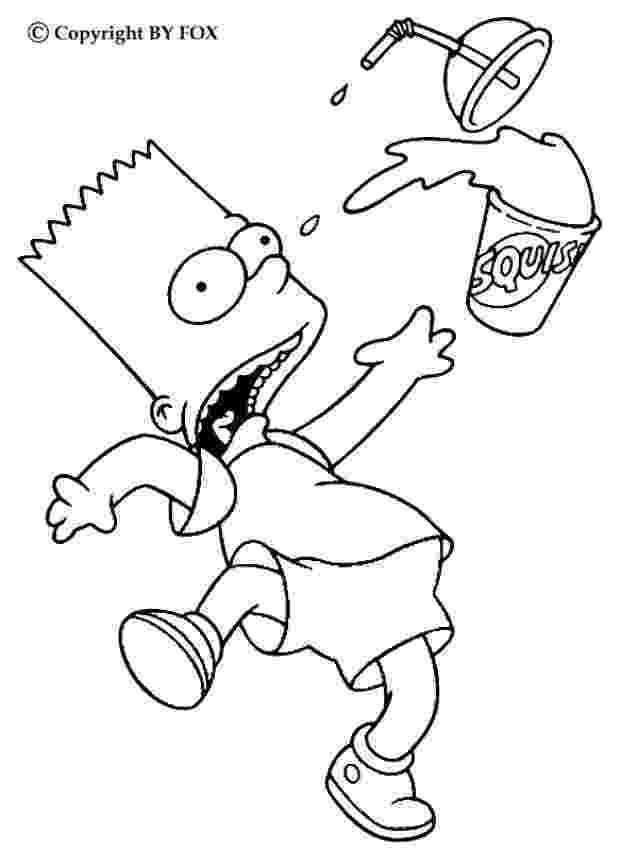 simpson coloring pages simpsons family at street coloring page wecoloringpagecom coloring pages simpson