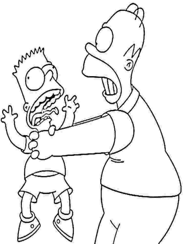simpson coloring pages the simpsons coloring pages download and print the pages simpson coloring