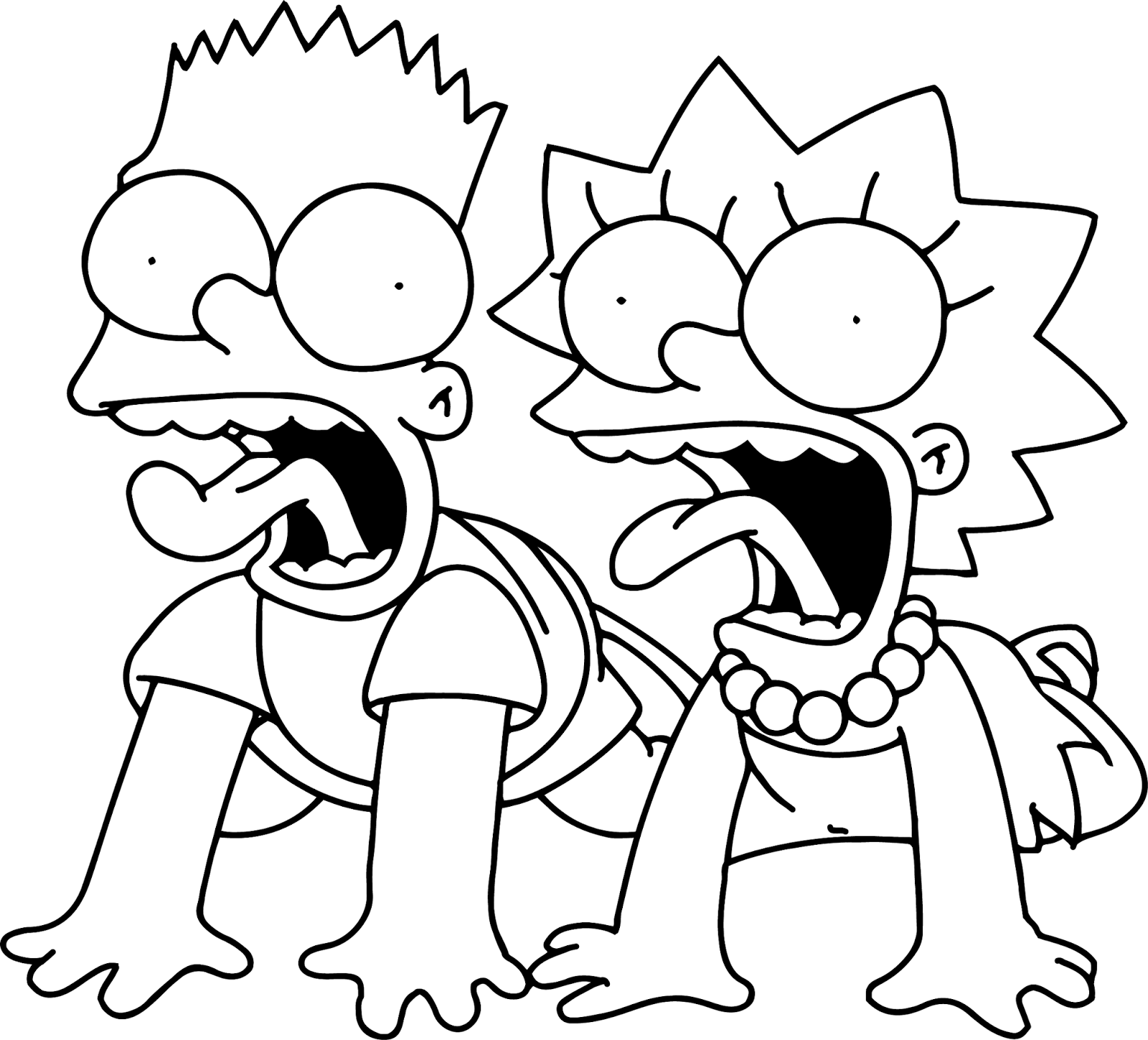 simpsons coloring pages páginas para colorear originales original coloring pages coloring pages simpsons