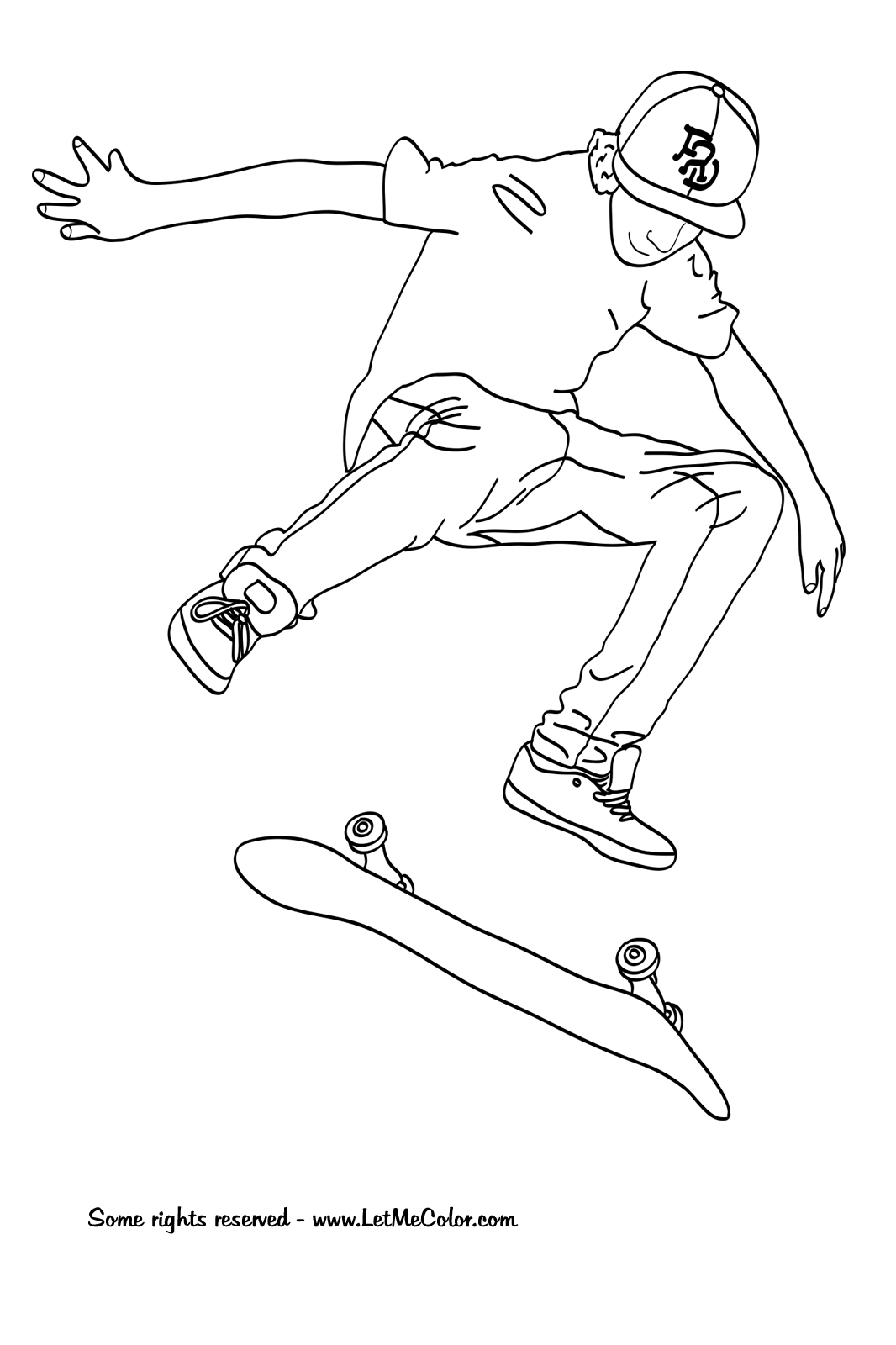 skateboard pictures to color balancing on skateboard coloring page free printable to skateboard color pictures