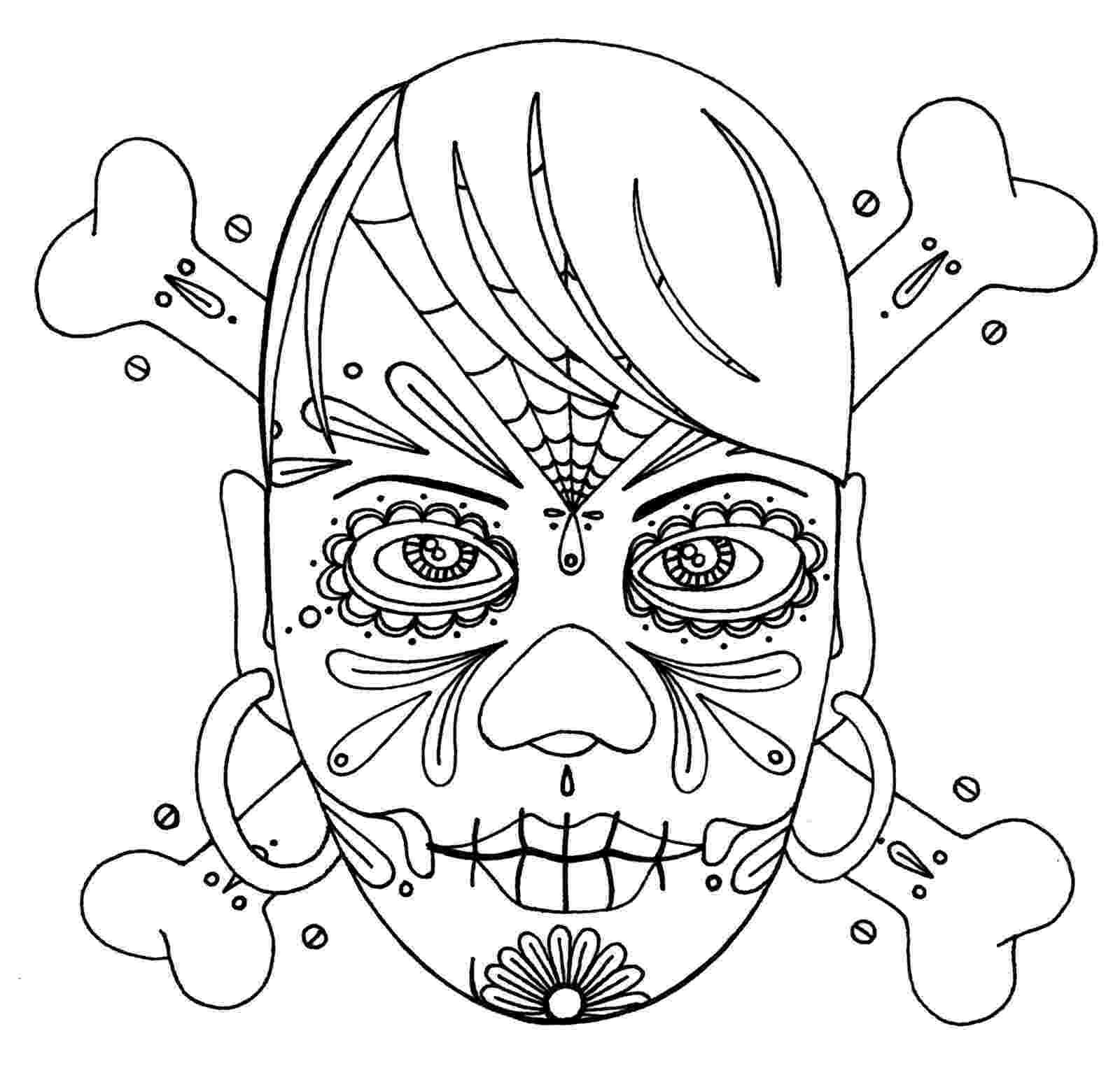 skull coloring sheet free printable skull coloring pages for kids coloring sheet skull