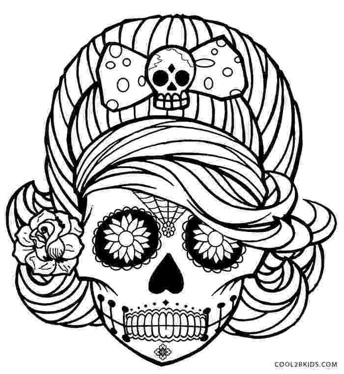 skull coloring sheet free printable skull coloring pages for kids coloring skull sheet