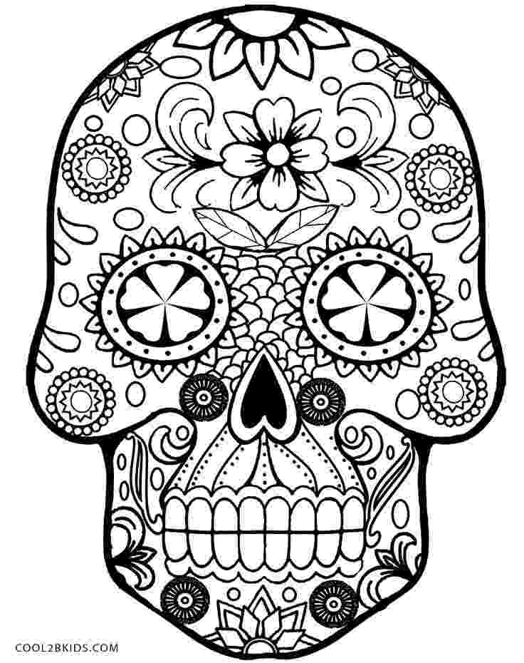 skull coloring sheet printable skulls coloring pages for kids cool2bkids sheet skull coloring