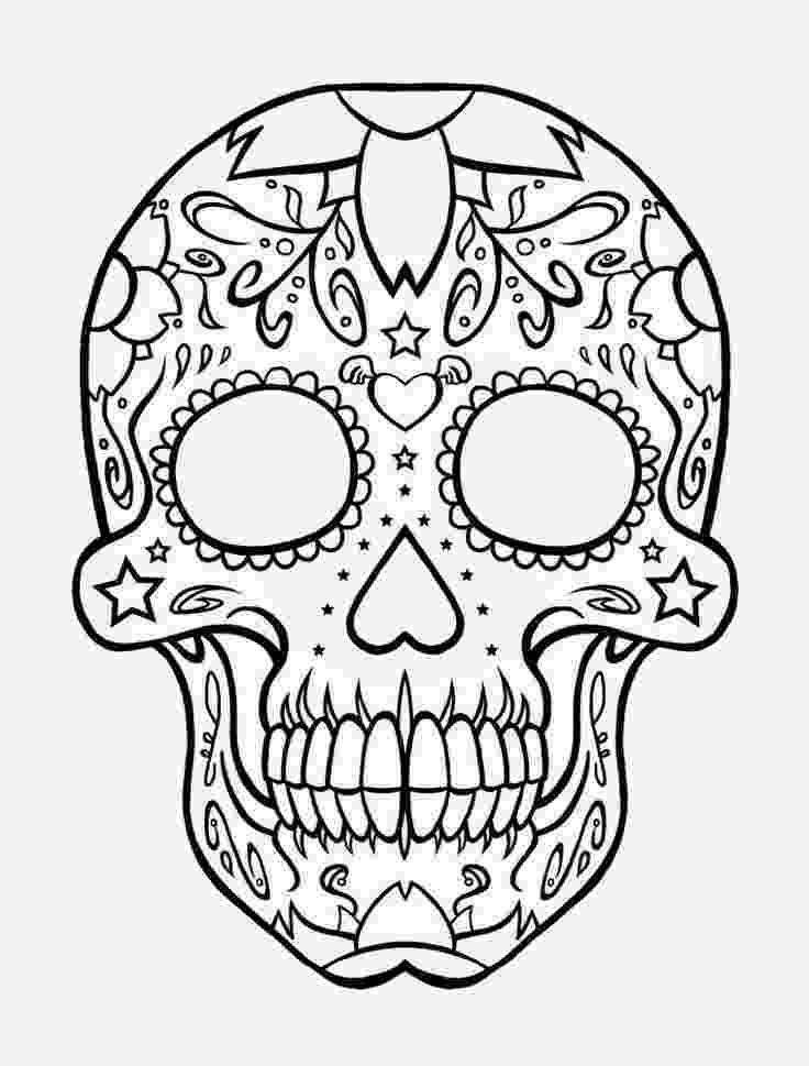 skull coloring sheets free printable skull coloring pages for kids coloring skull sheets