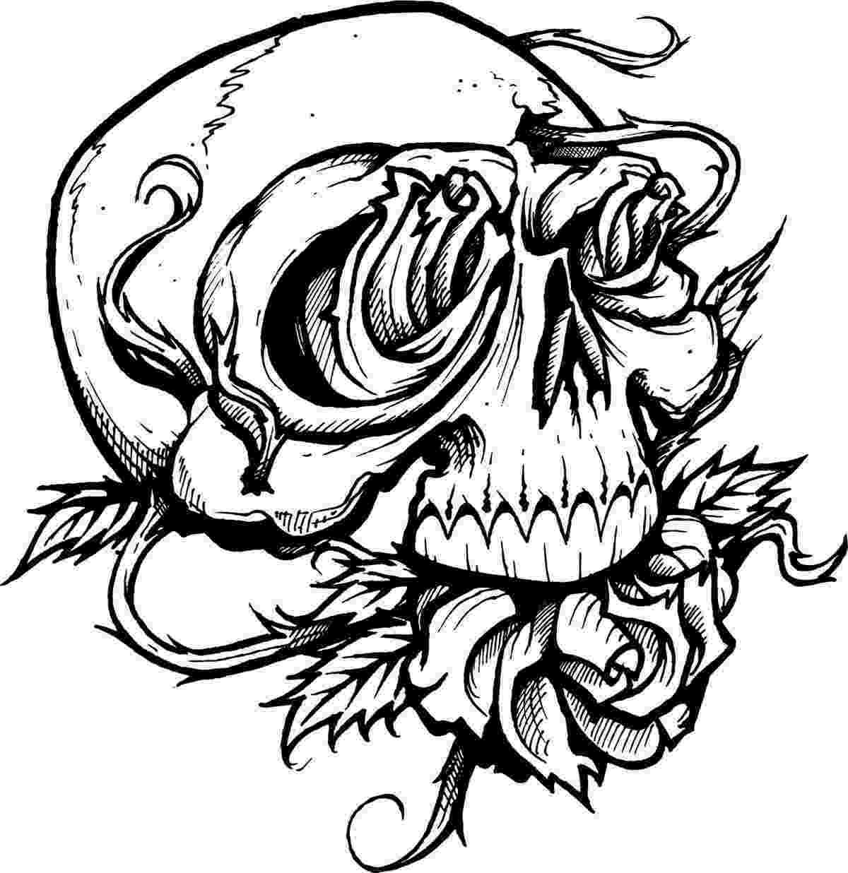skull coloring sheets printable skulls coloring pages for kids cool2bkids coloring sheets skull 1 1