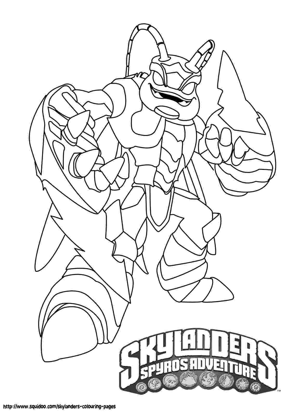 skylander printouts printable skylanders coloring pages skylander printouts