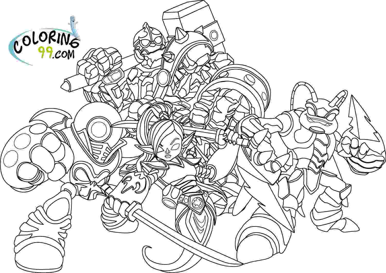 skylanders coloring pages crabfu blog skylanders speed drawing coloring pages pages coloring skylanders