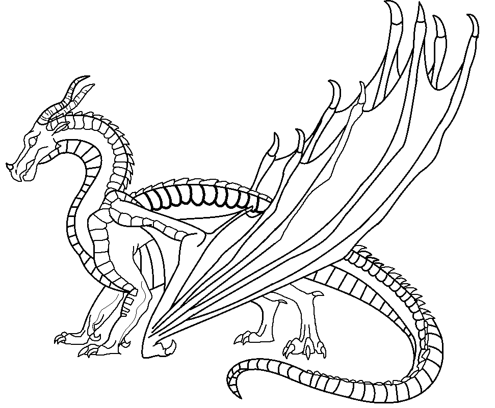 skywing dragon wings of fire german mudwing lineart by vegasyote dcfev34 skywing dragon
