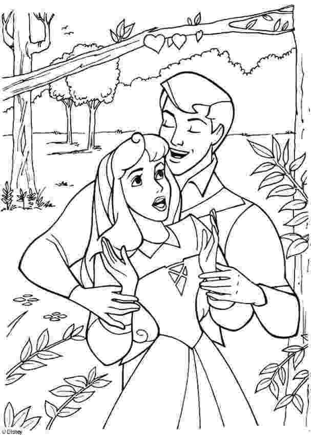 sleeping beauty coloring page princess aurora and prince philip dancing waltz coloring sleeping beauty coloring page