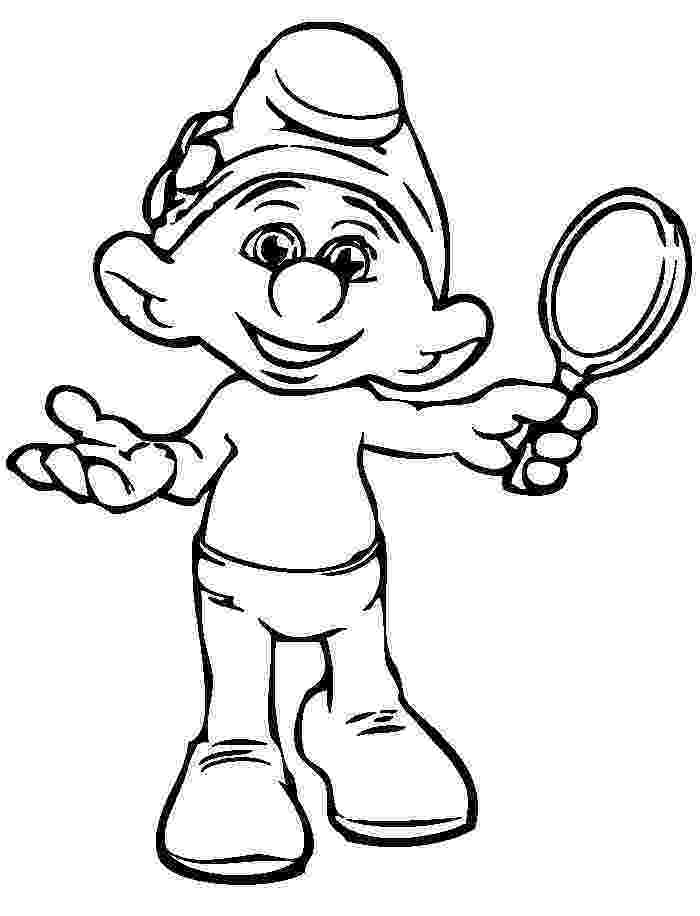 smurf pictures 25 best smurfs coloring pages images on pinterest the pictures smurf