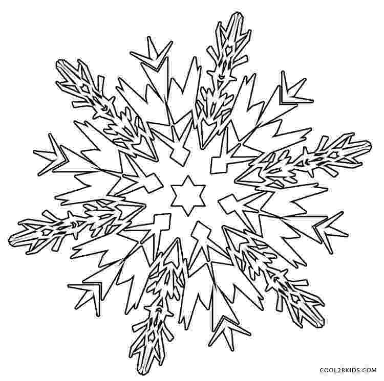 snow flake coloring pages printable snowflake coloring pages for kids cool2bkids coloring flake snow pages