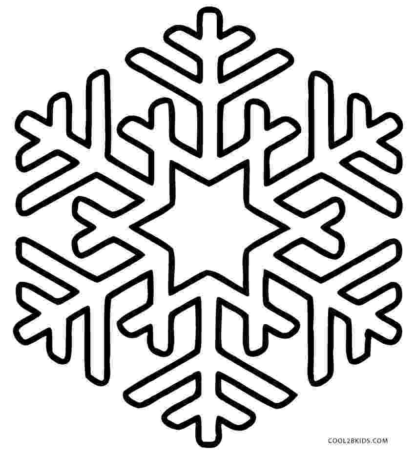 snow flake coloring pages printable snowflake coloring pages for kids cool2bkids snow coloring flake pages