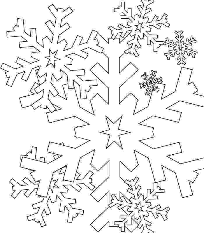 snow flake coloring pages simple snowflake coloring pages coloring home coloring flake pages snow