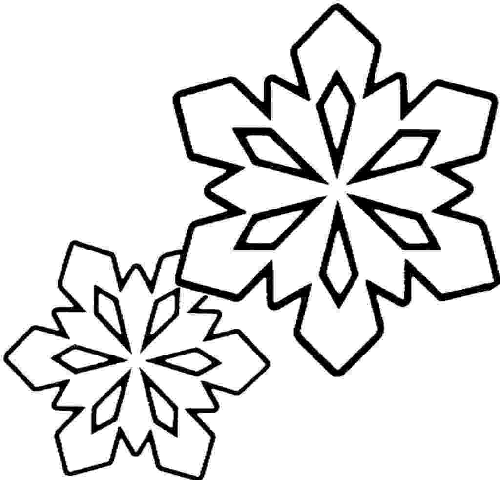 snow flake coloring pages snow flake outline clipartsco pages coloring snow flake