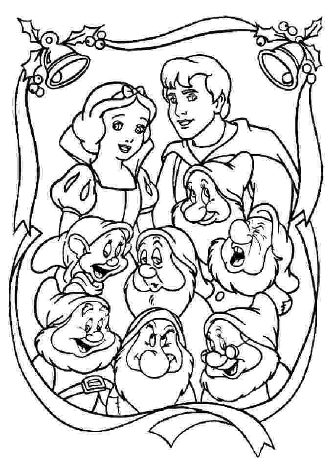 snow white and seven dwarfs coloring pages snow white and the seven dwarfs coloring pages 5 pages and snow coloring seven dwarfs white