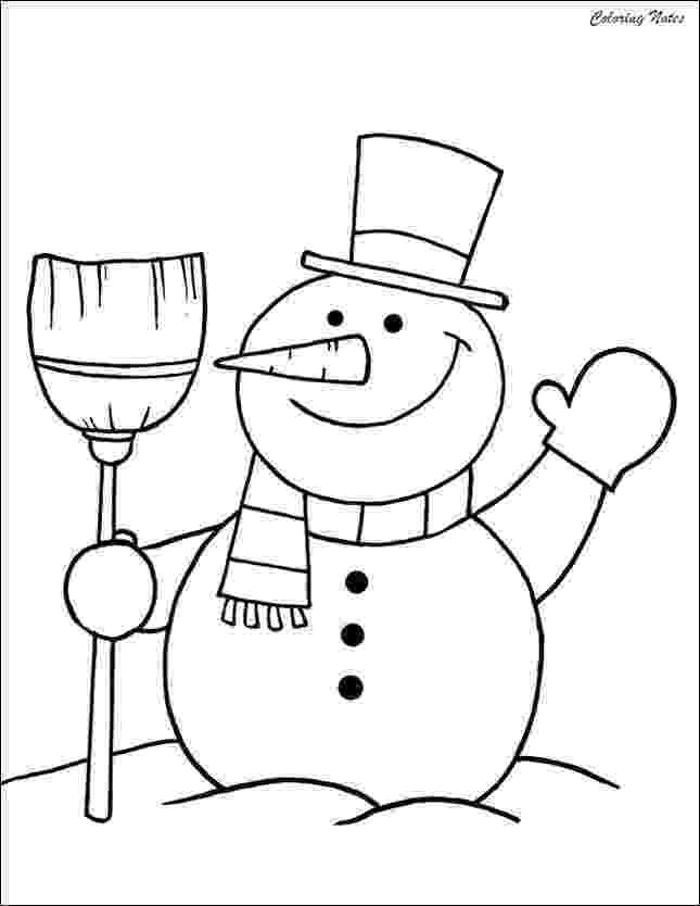 snowmancoloring sheets 20 cute snowman coloring pages for kids easy free and snowmancoloring sheets