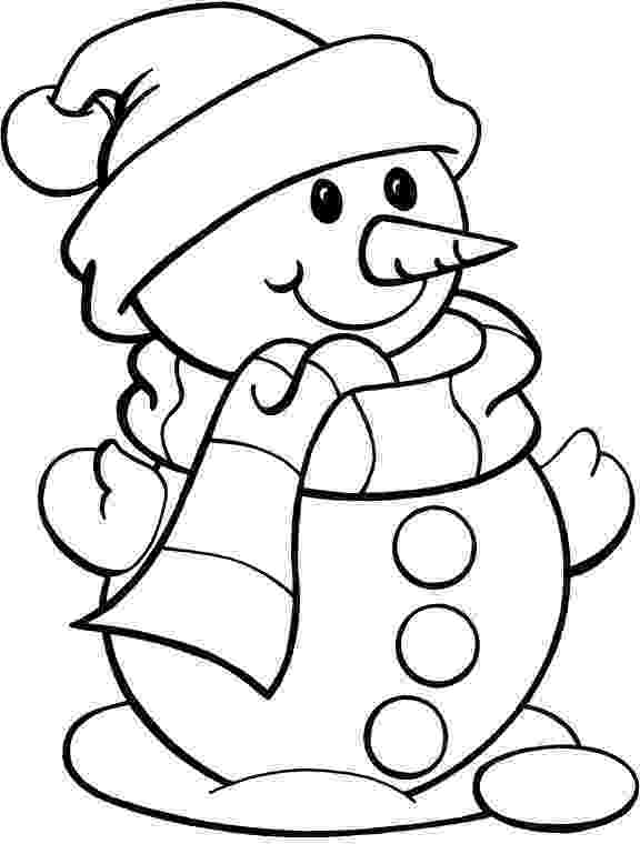 snowmancoloring sheets frosty the snowman coloring pages printable shelter snowmancoloring sheets