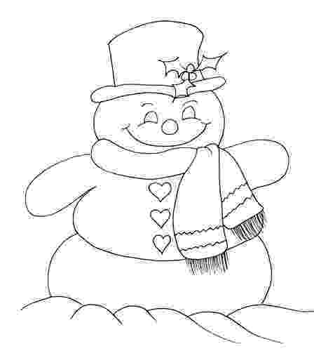 snowmancoloring sheets lyontarotden snowman coloring pages for kids snowmancoloring sheets