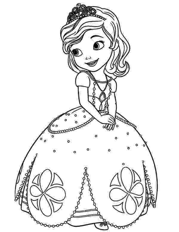 sofia the first free printable coloring pages sofia the first coloring pages the printable free sofia first pages coloring