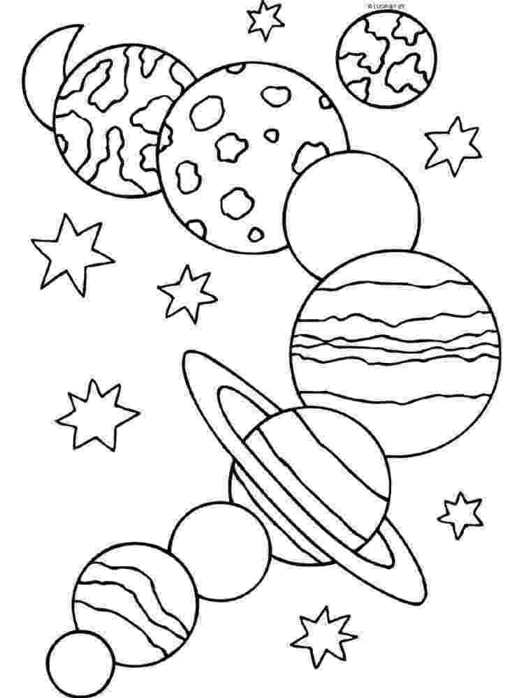 solar system coloring sheets pictures of each planet in the solar system coloring sheets system coloring solar