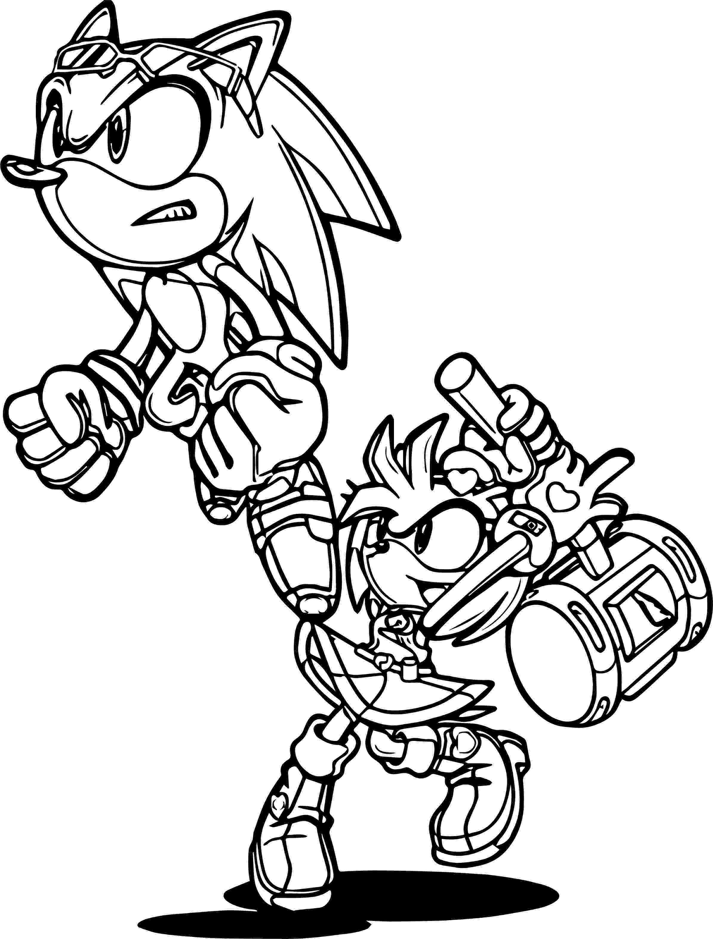 sonic amy coloring pages color me kiss by sonicschilidog on deviantart amy coloring sonic pages