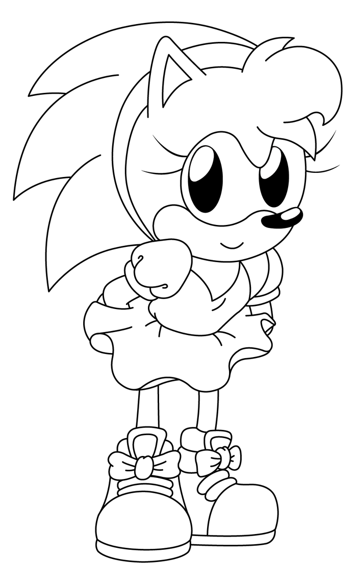 sonic amy coloring pages sonic coloring pages for boys educative printable pages sonic amy coloring