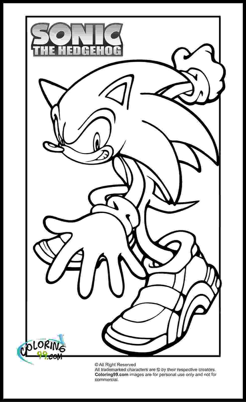 sonic coloring pages printable free printable sonic the hedgehog coloring pages for kids coloring sonic pages printable