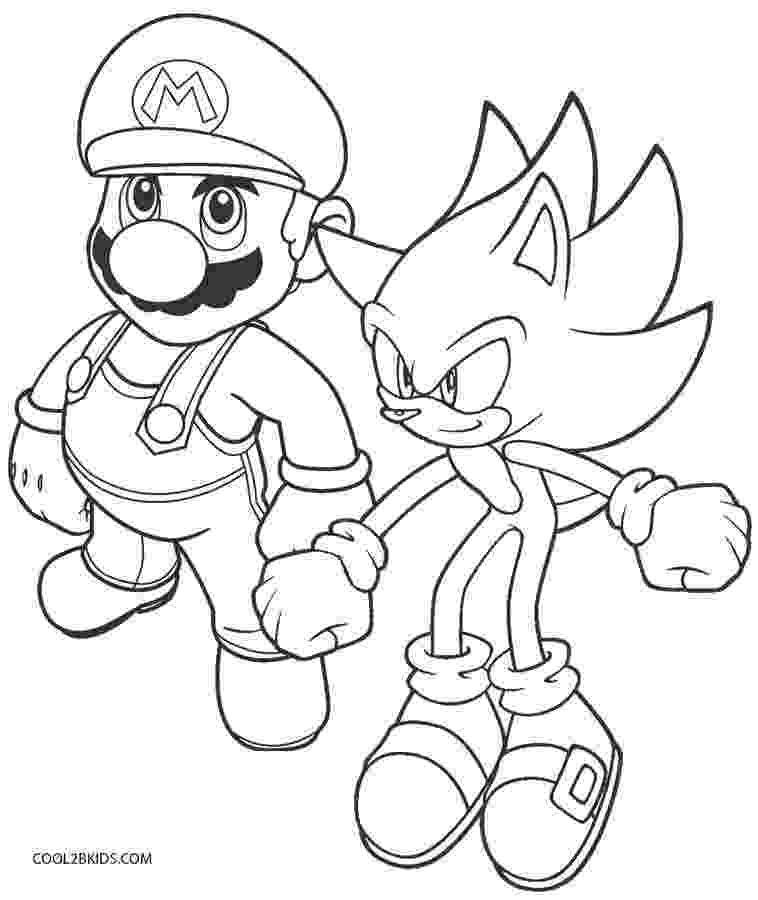 sonic coloring sonic coloring pages team colors coloring sonic