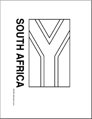 south african flag colouring picture colouring book of flags sub saharan africa picture colouring flag south african