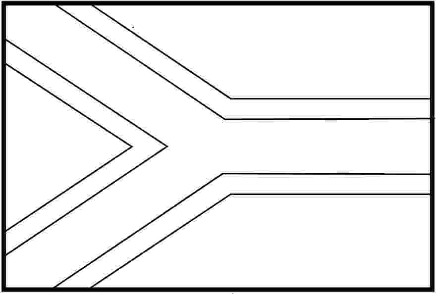 south african flag colouring picture the flag of south africa coloring pages flags coloring picture colouring african flag south
