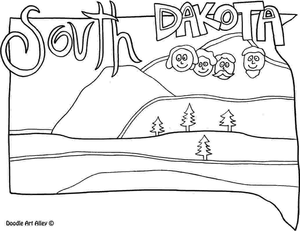 south dakota state flag coloring page south dakota coloring pages free printable online south coloring flag south dakota page state