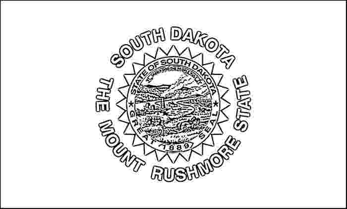 south dakota state flag coloring page south dakota flag coloring page purple kitty coloring dakota south flag page state