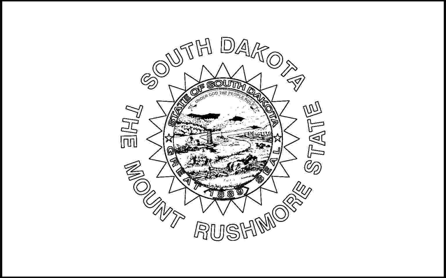 south dakota state flag coloring page south dakota flag coloring page thousand of the best page coloring flag dakota south state