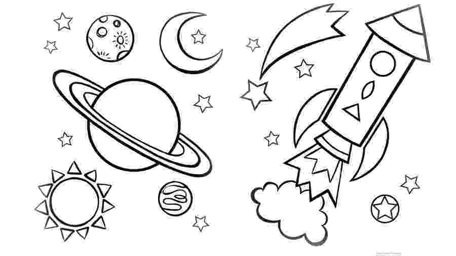 space coloring pages to print space coloring pages to download and print for free pages space to coloring print