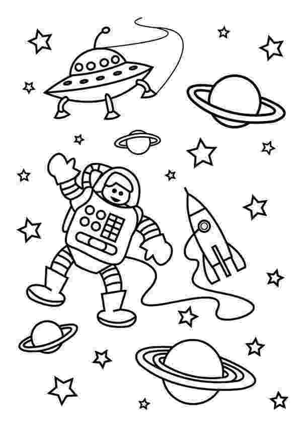 space coloring pages to print trippy space alien flying saucer and planets coloring print space to coloring pages