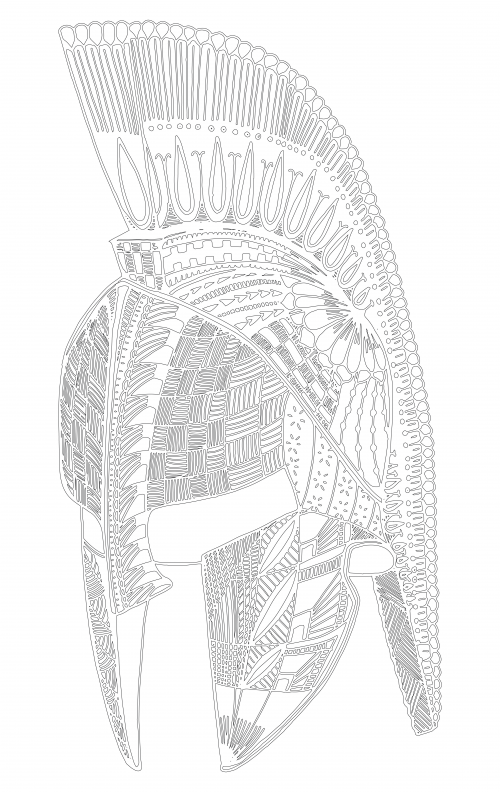 spartan helmet coloring pages spartan soldier drawing at getdrawingscom free for coloring spartan pages helmet