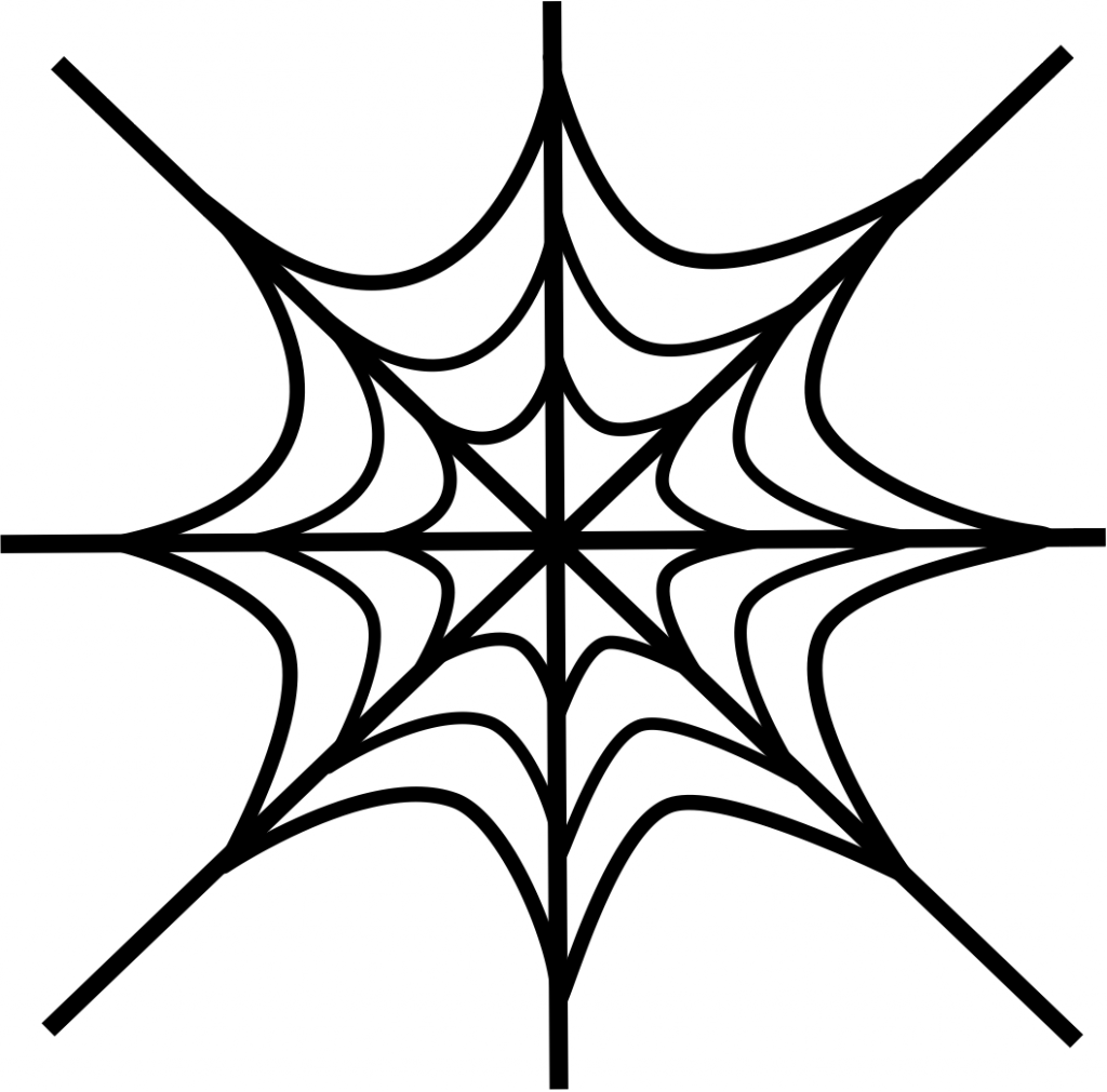 spider web coloring page cute spider coloring pages getcoloringpagescom spider web page coloring
