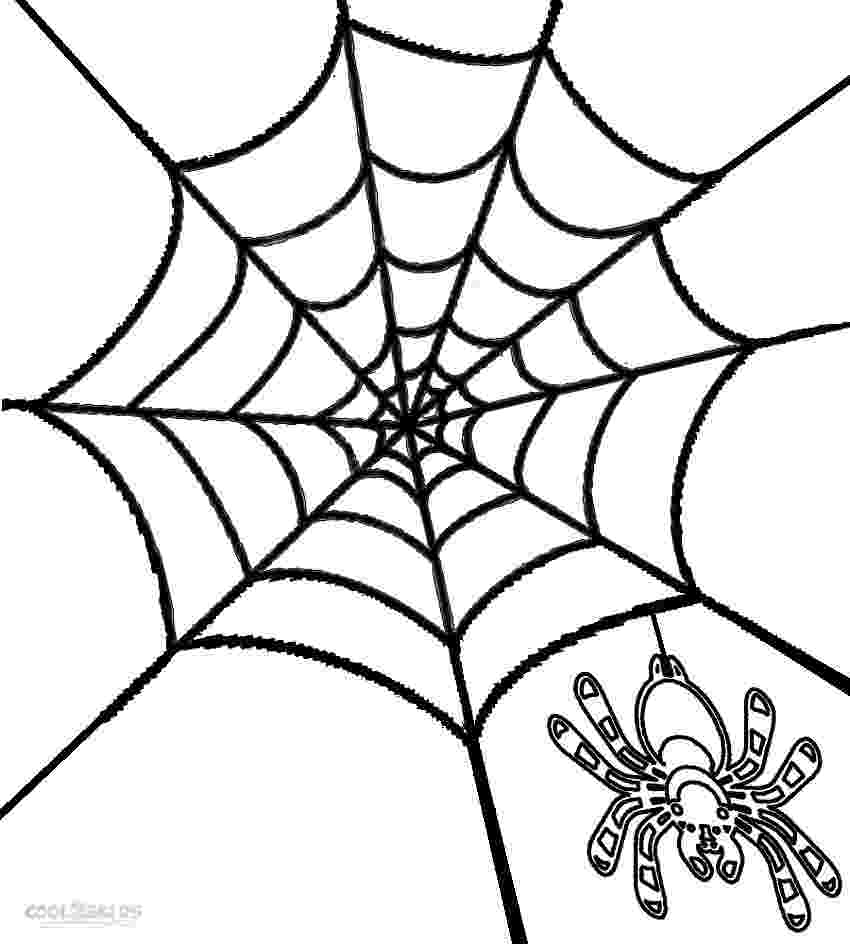 spider web coloring page free printable spider web coloring pages for kids page spider web coloring